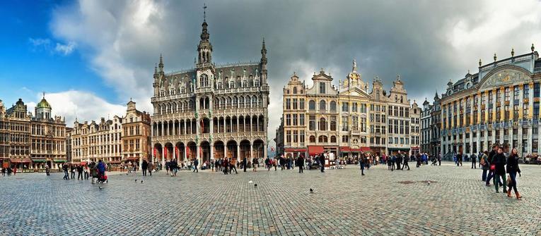 Index big wide foto brusel