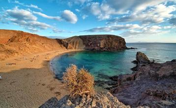 Destination index lanzarote playa papagayo