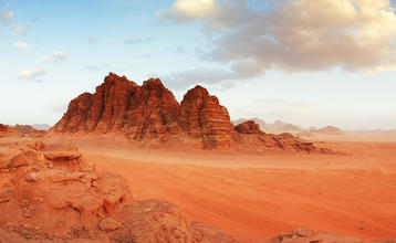 Destination index wadi rum jordansko