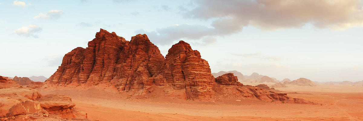Show big wadi rum jordansko
