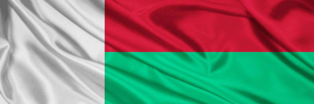 Show big madagascar flag
