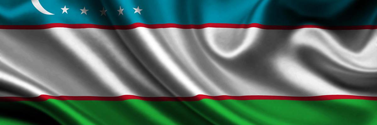 Show big uzbekistan flag zastava