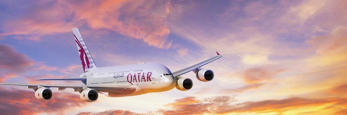 Show big qatar airways a380