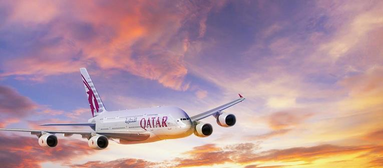 Index big wide qatar airways a380