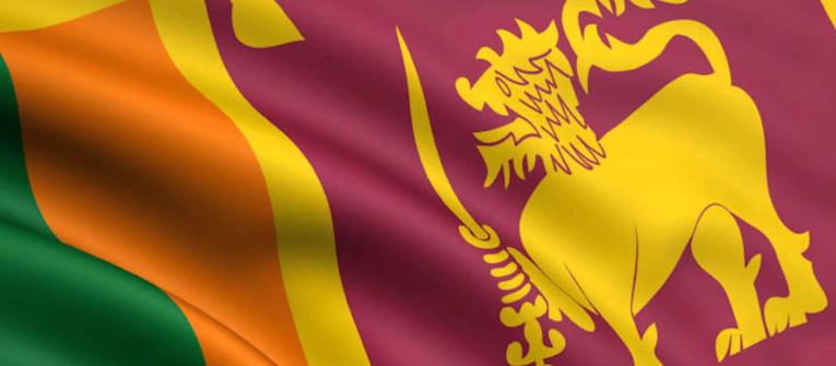Index big wide sri lanka flag zastava