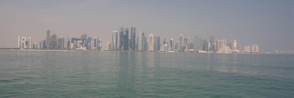 Show big panor%c3%a1ma mrakodrapov v dohe
