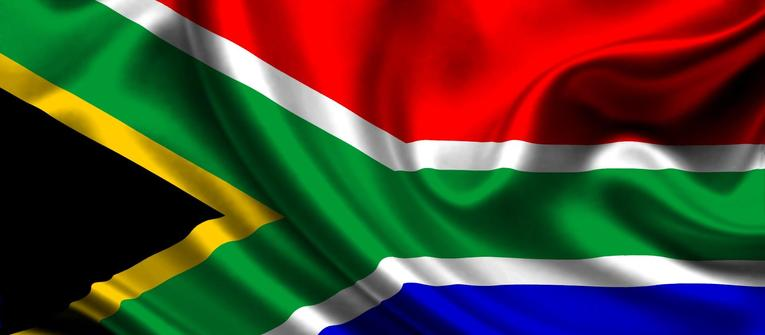 Index big wide south african flag