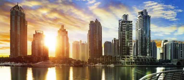 Index big wide dubaj city