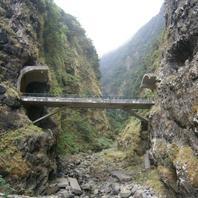 Jeden z typických tunelov na severe