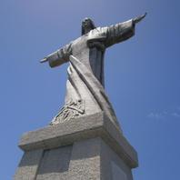 Socha Ježsa Krista v Ponta do Garajau