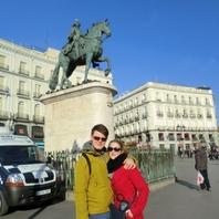 Áno, naozaj existujeme, pre detailistov  na námestí Puerta del Sol