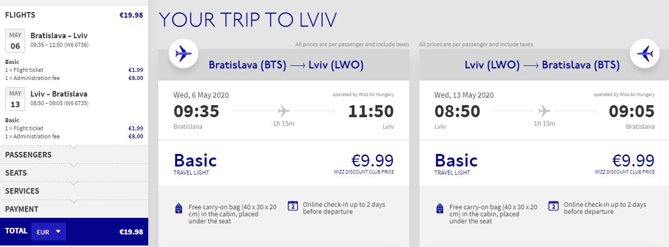 Ľvov z Bratislavy počas jari s letenkami od 20 eur
