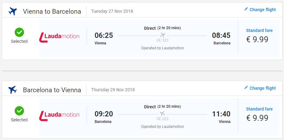 ŠPANIELSKO - Barcelona z Viedne s letenkami od 20 eur