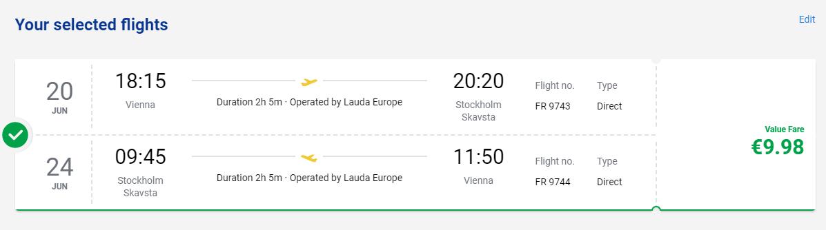 ŠVÉDSKO - Štokholm z Viedne s letenkami od 10 eur