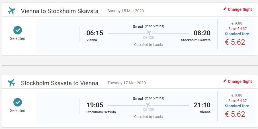 ŠVÉDSKO - Štokholm z Viedne s letenkami od 11 eur