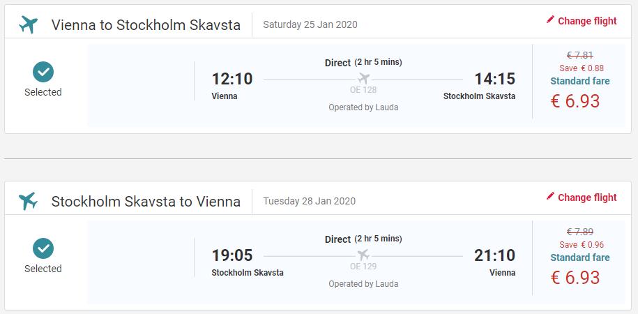 ŠVÉDSKO - Štokholm z Viedne s letenkami od 14 eur