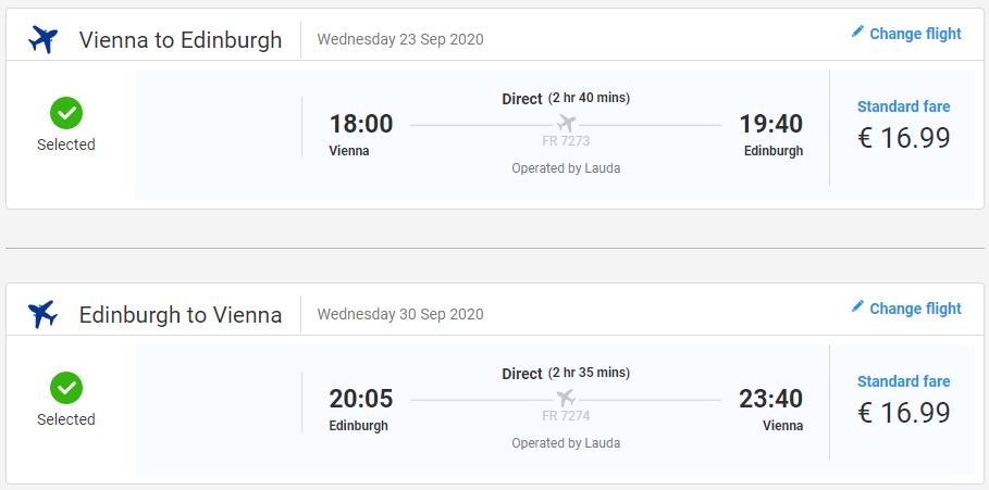 Škótsko koncom leta. Edinburgh z Viedne s letenkami od 34 eur