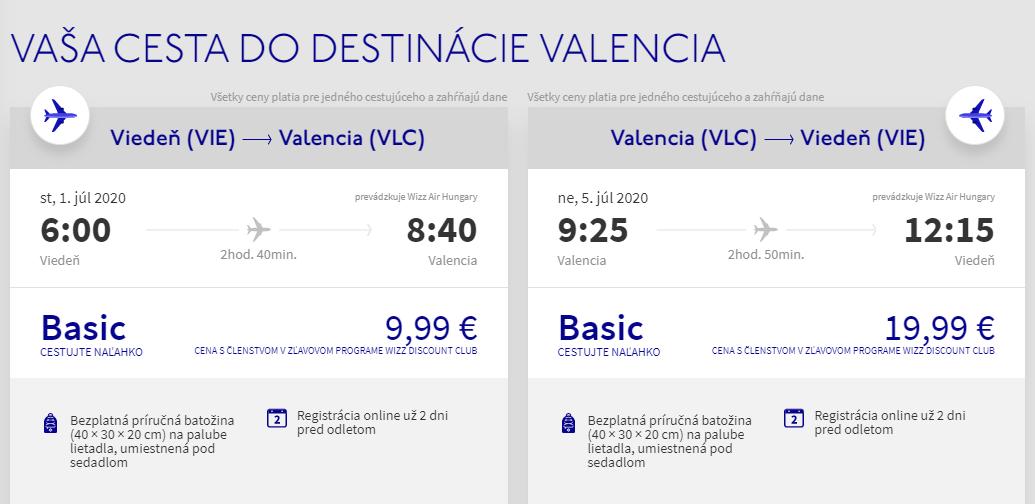 Španielská Valencia cez letné prázdniny. Letenky z Viedne už od 30 eur