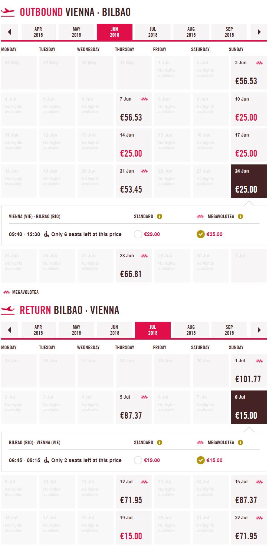 Španielske Bilbao z Viedne začiatkom leta s letenkami od 42 eur