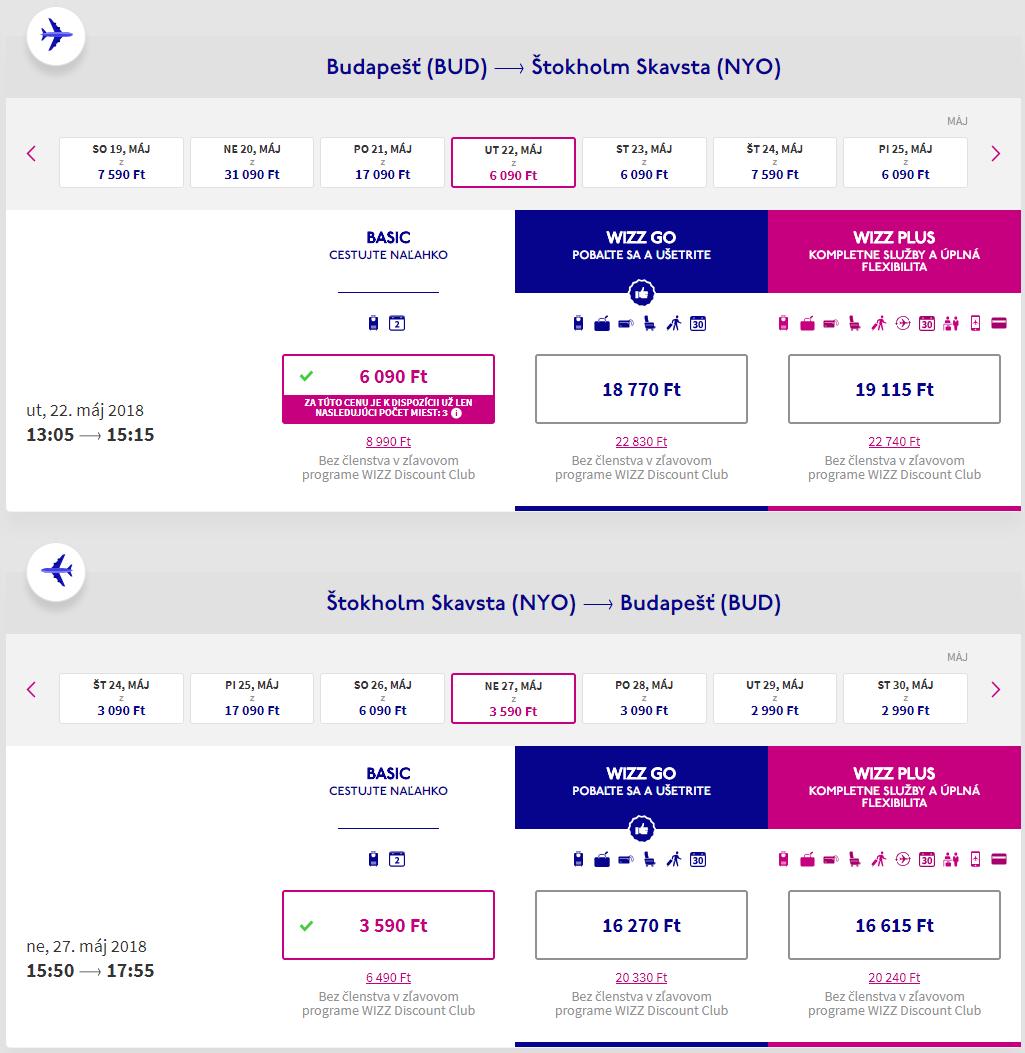 Štokholm a Helsinky plus 2 noci na výletnej lodi s cenou už od 73 eur - letenky