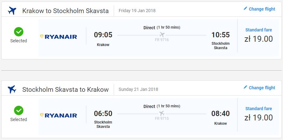 Štokholm z Krakova aj na víkend s lacnými letenkami od 9 eur