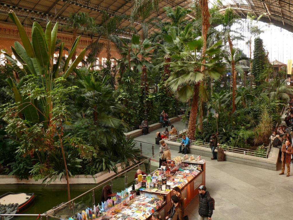 Železničná stanica Atocha – no comment!