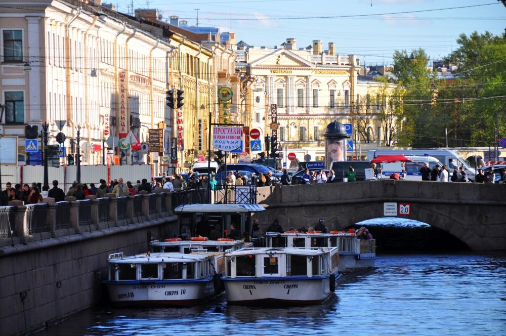 Petrohradskými kanálmi