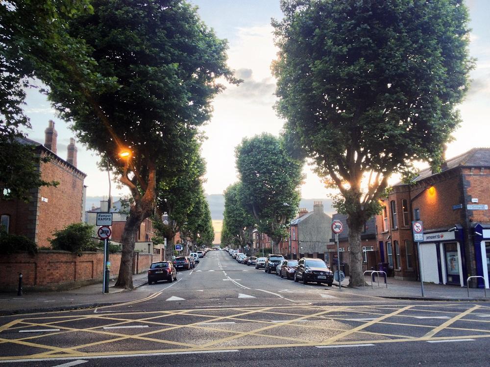 1. Dublinská ulička mimo centra