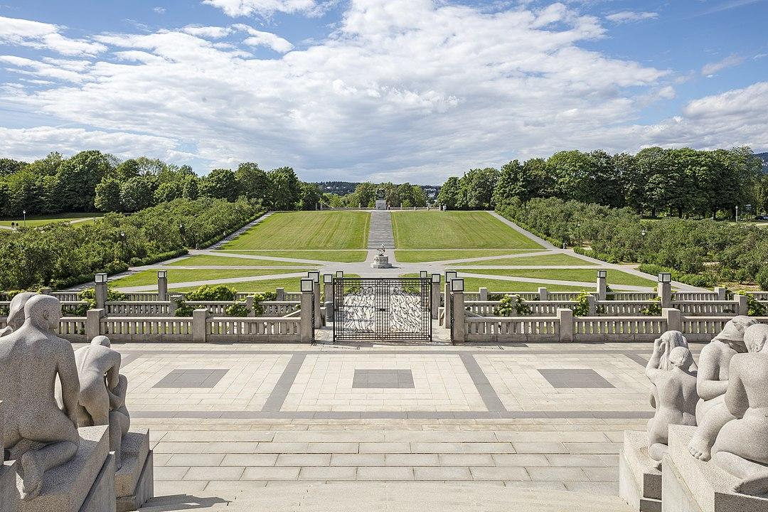 Frogner Park - By Andrew Shiva / Wikipedia