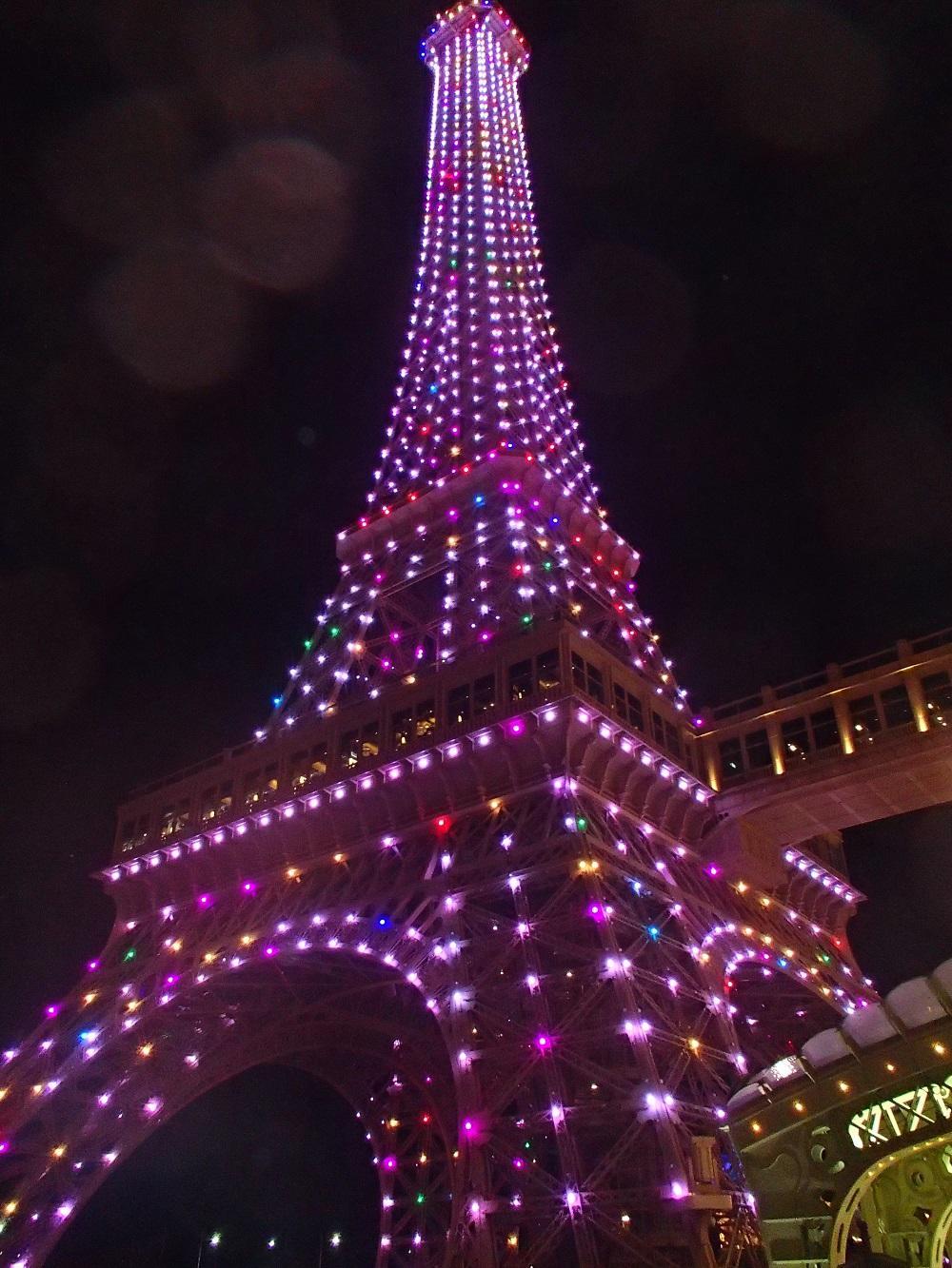 Eifell Tower pri The Parisian