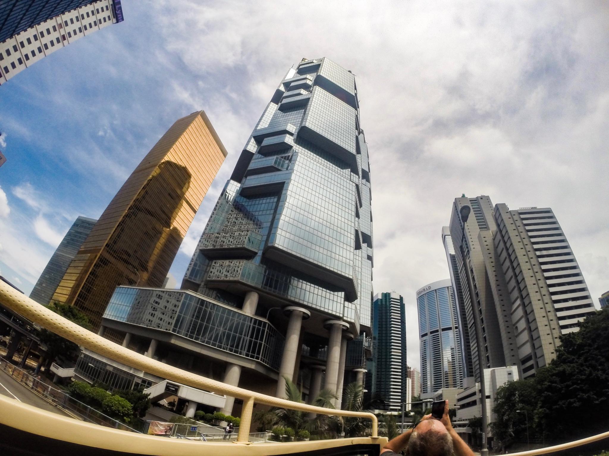 Jeden zo stoviek mrakodrapov