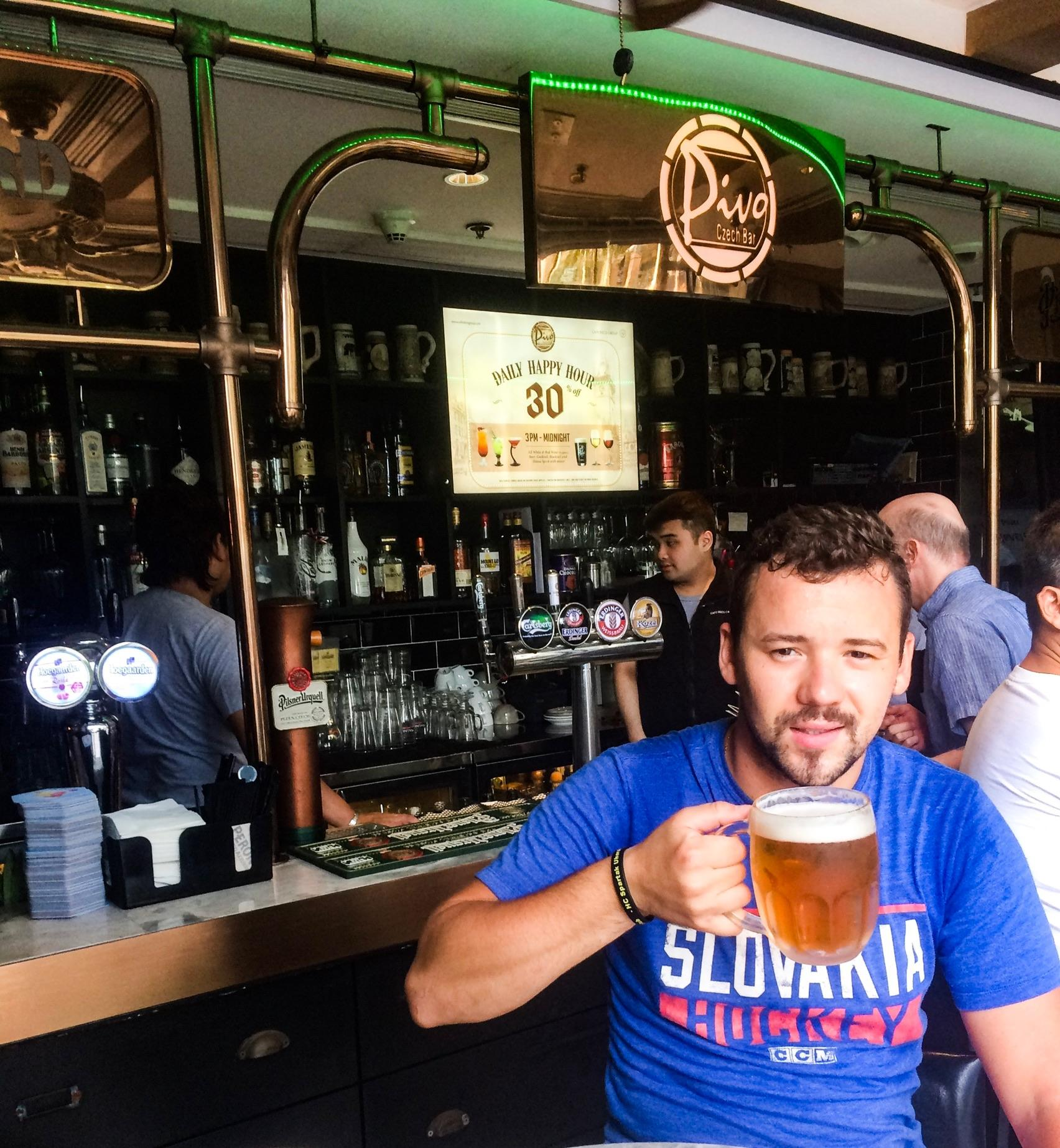 Zaslúžená odmena v Českom bare