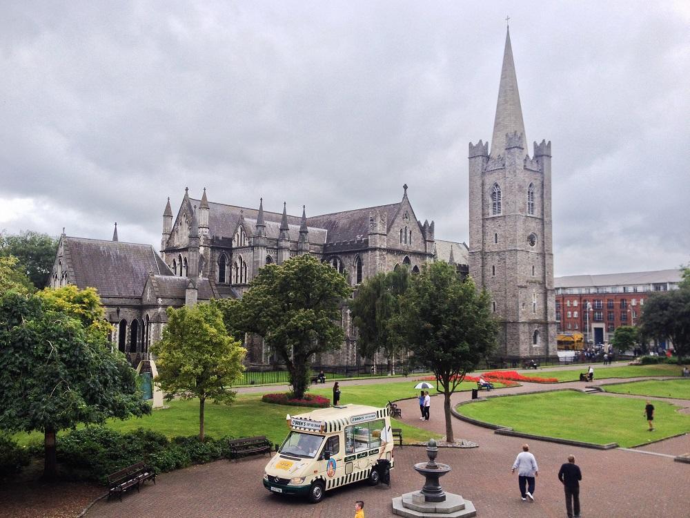 9. katedrála svätého Patrika - Dublin