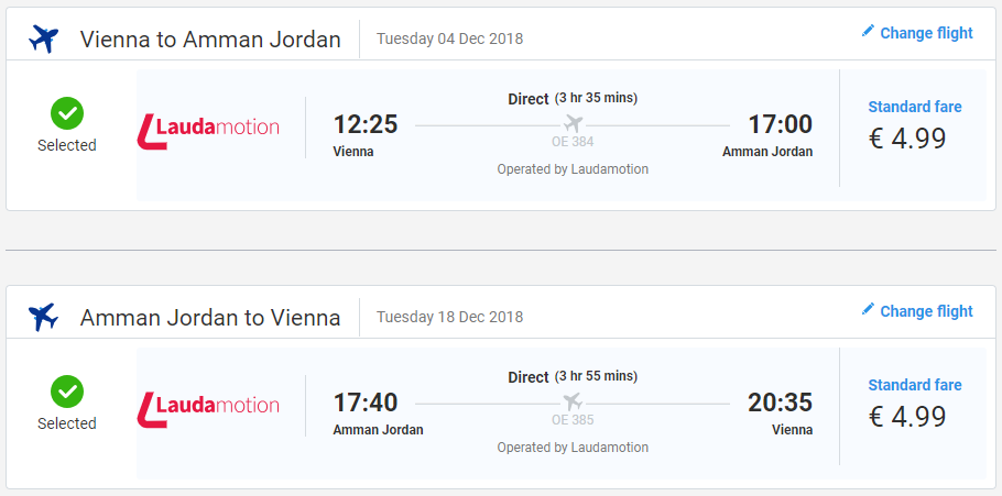 bd4266ed6a407 JORDÁNSKO: Ammán z Viedne s Laudamotion už od 10€