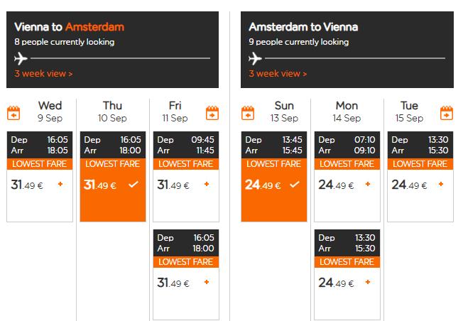 Amsterdam koncom leta. Letenky z Viedne aj na predĺžený víkend od 56 eur