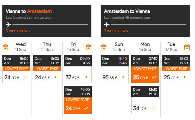 Amsterdam na predĺžený víkend. Letenky z Viedne v septembri od 49 eur