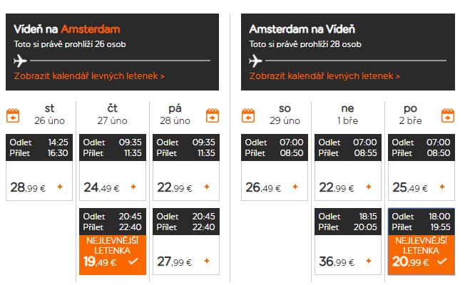 Amsterdam nie len na predĺžený víkend. Letenky z Viedne uži od 40 eur