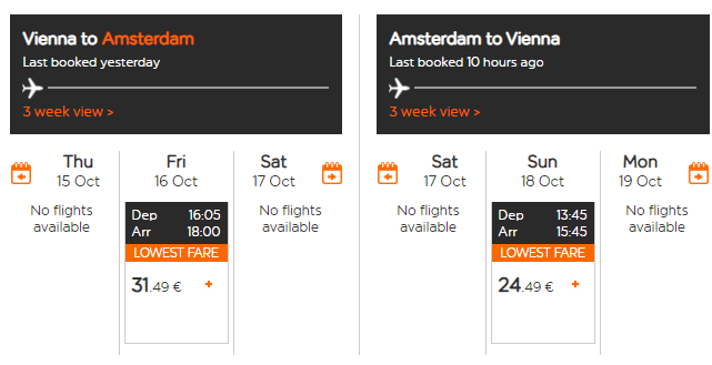 Amsterdam počas jesene. Letenky z Viedne aj na víkend od 56 eur