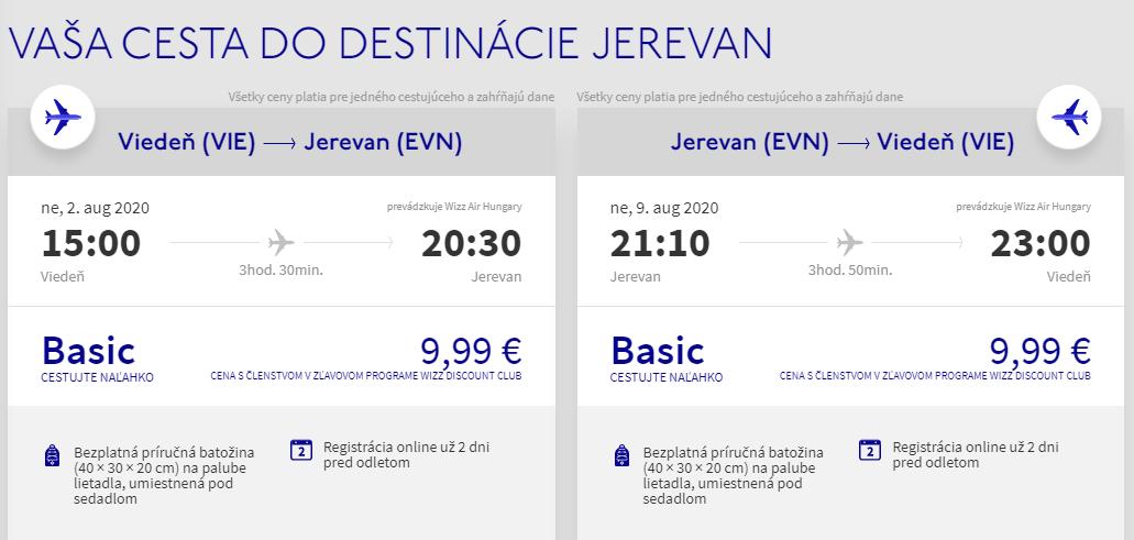 Arménsko cez letné prázdniny. Jerevan z Viedne s letenkami od 20 eur