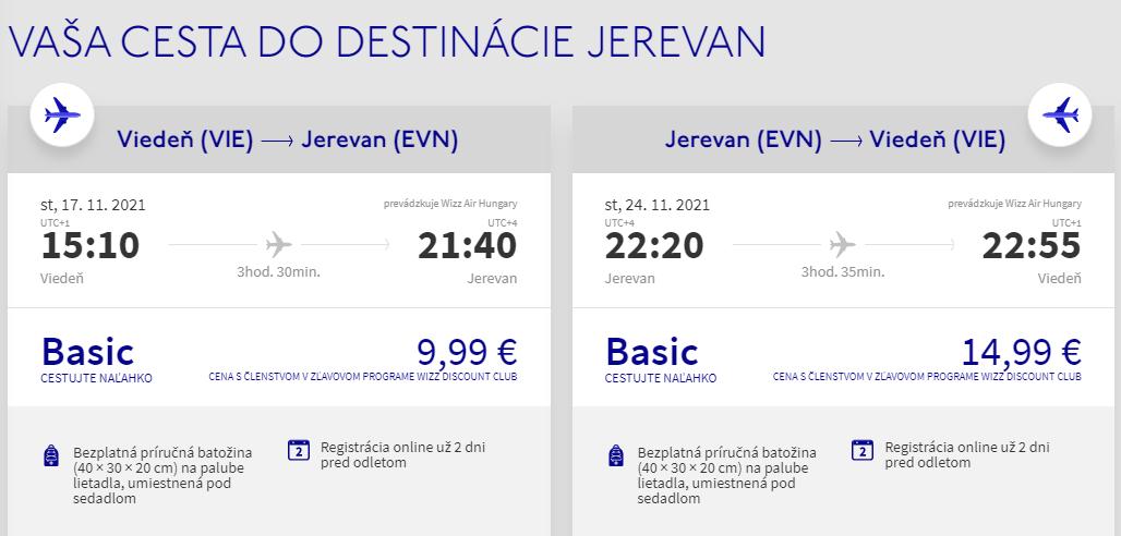 Arménsko počas jesene. Jerevan z Viedne s letenkami od 25 eur
