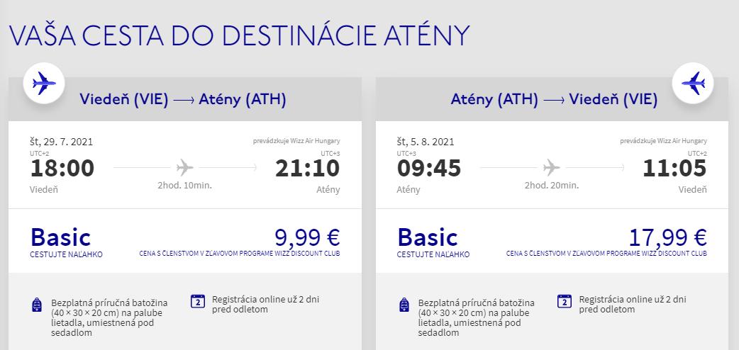 Atény cez letné prázdniny. Spiatočné letenky z Viedne od 28 eur
