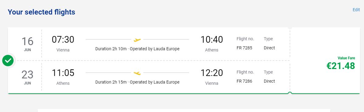 Atény začiatkom leta. Spiatočné letenky z Viedne od 21 eur