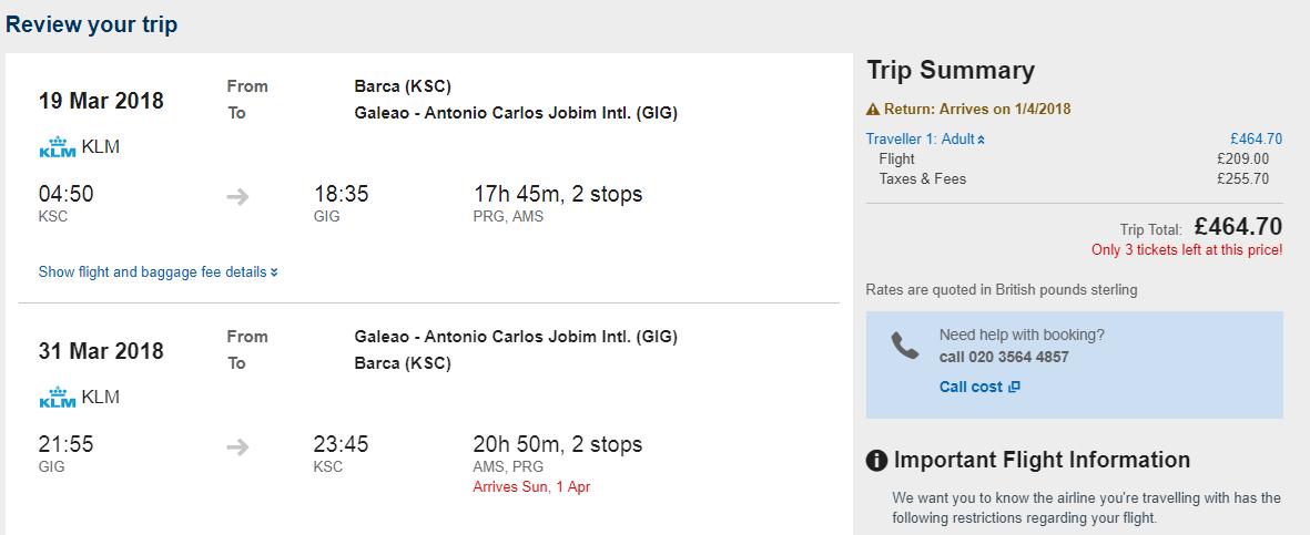 BRAZÍLIA Z KOŠÍC - Rio de Janeiro s letenkami od 524 eur