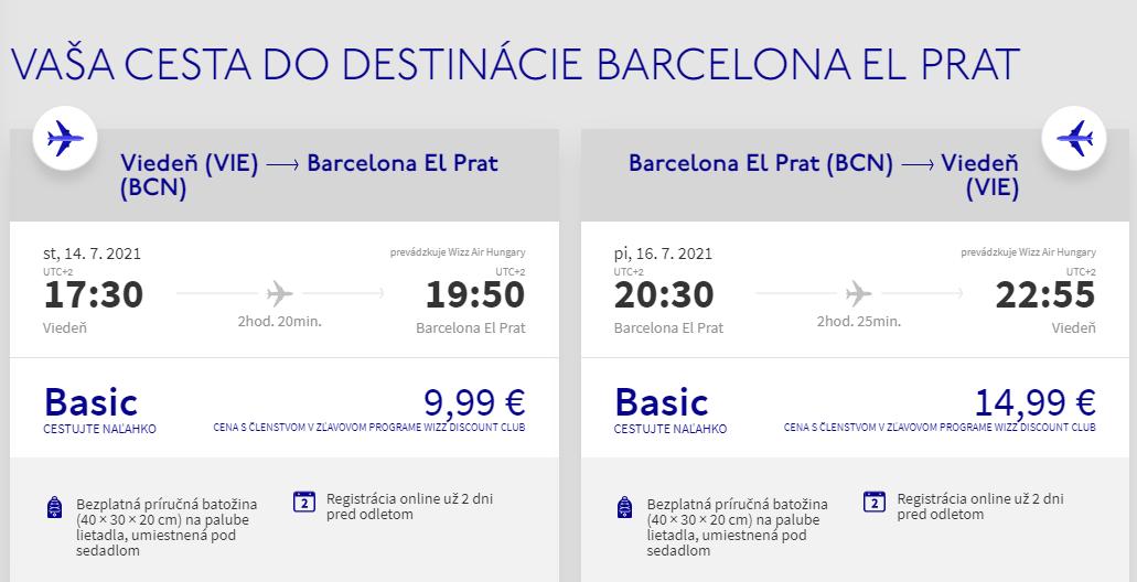 Barcelona cez letné prázdniny. Spiatočné letenky z Viedne od 25 eur