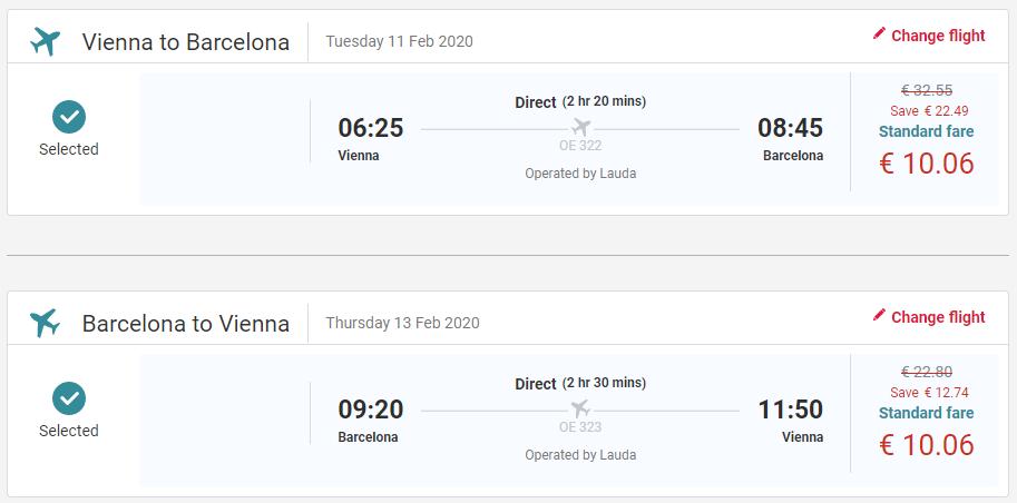 Barcelona z Viedne koncom roka s letenkami od 20 eur