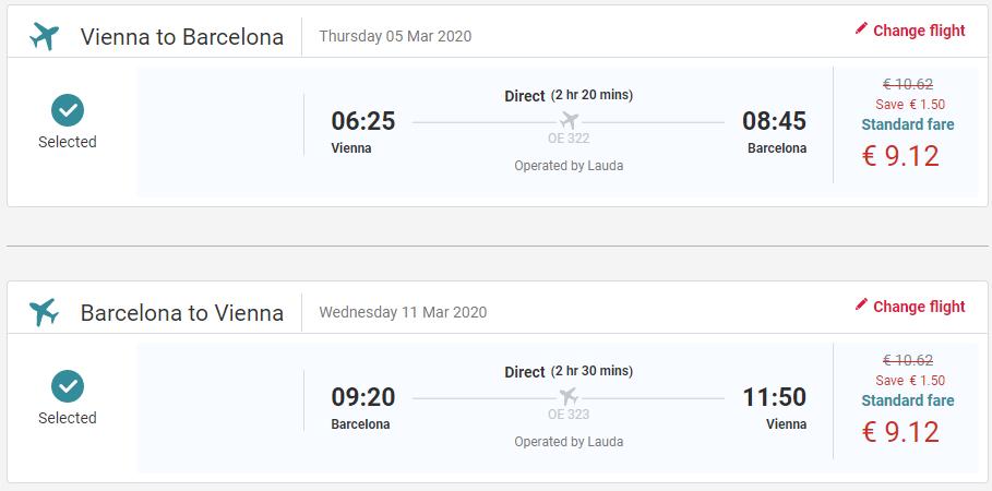 Barcelona z Viedne s letenkami od 18 eur