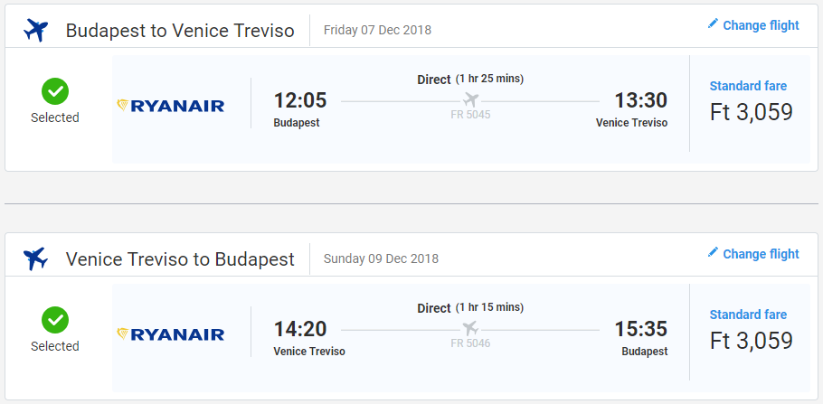Benátky z Budapešti s letenkami už od 19 eur