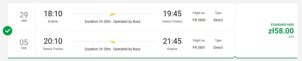Benátky z Krakova s letenkami od 13 eur