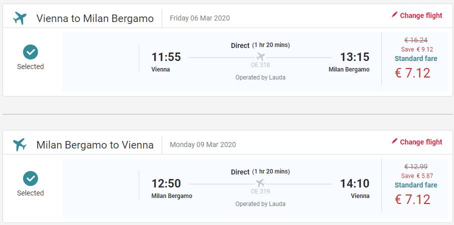 Bergamo z Viedne aj na predĺžený víkend s letenkami od 14 eur
