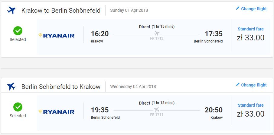 Berlín z Krakova s letenkami už od 16 eur